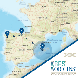 GPS Origins Ancestry Test