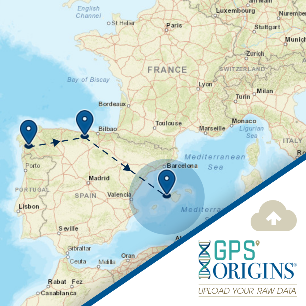 <b>GPS Origins®</b> Algorithm - Upload Your Raw Data