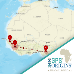 GPS Origins Ancestry Test | African Edition