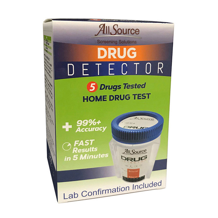 AllSource 5 Panel Drug Detector Home Drug Test