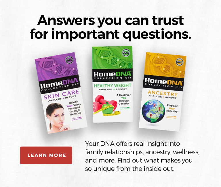 HomeDNA Home Genetic Testing