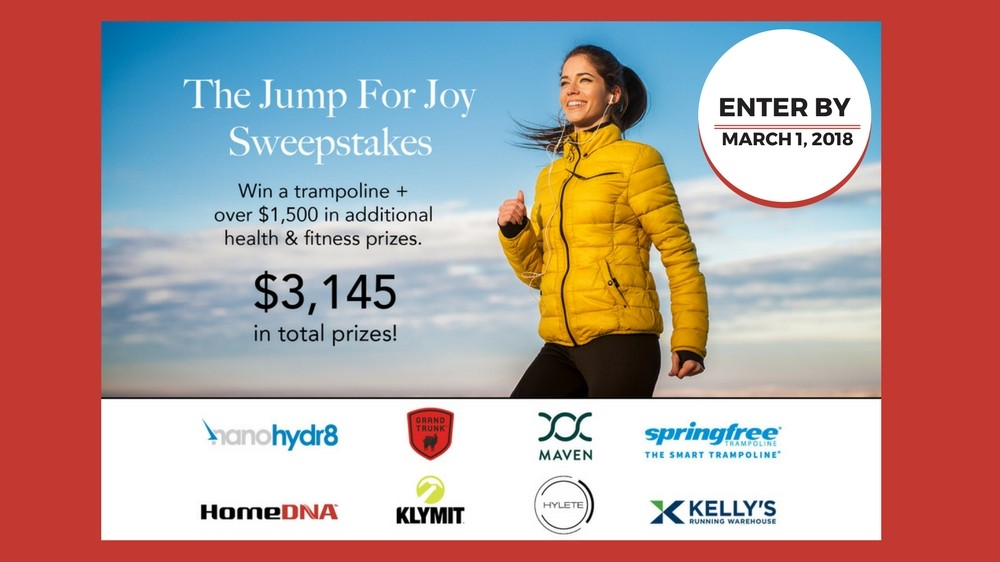 Enter the Jump for Joy Sweepstakes!