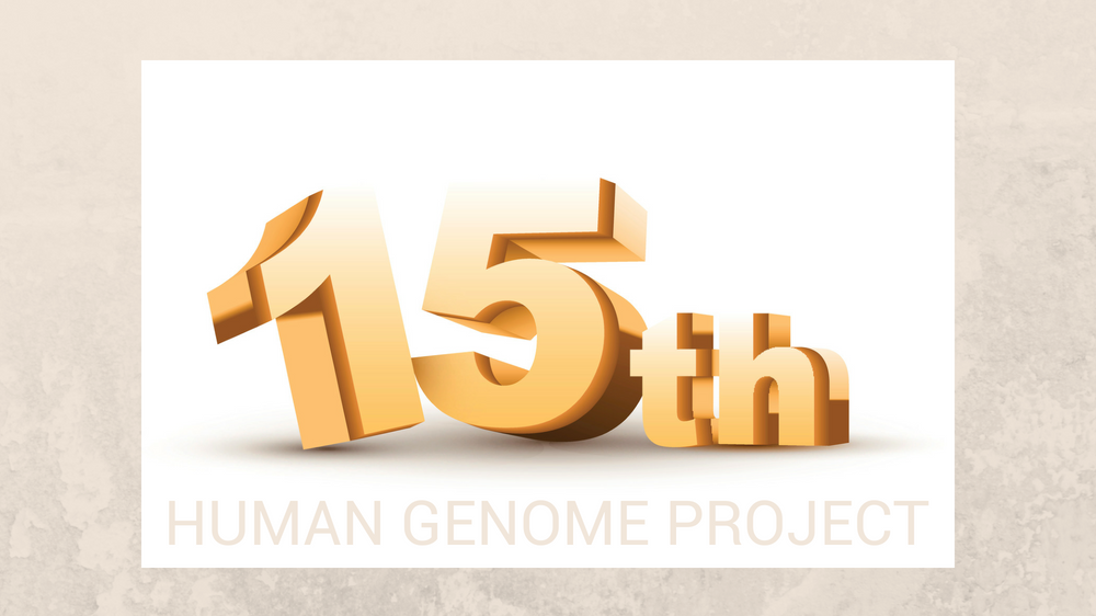 The Human Genome Project: Celebrating its 15th Anniversary