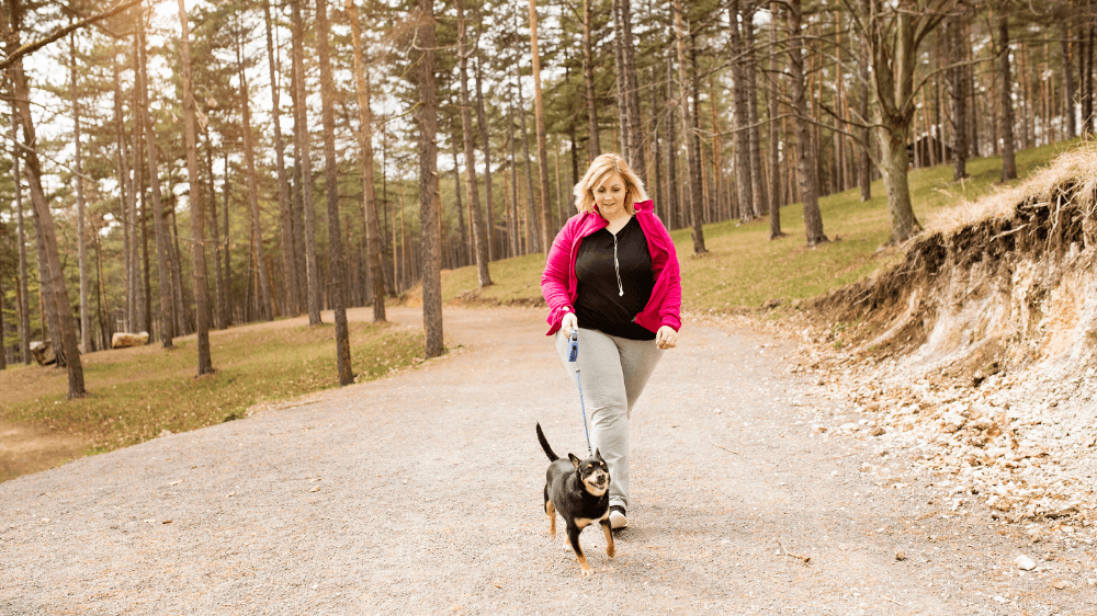 New Year's Weight Loss Tips for your Dog (and YOU)!